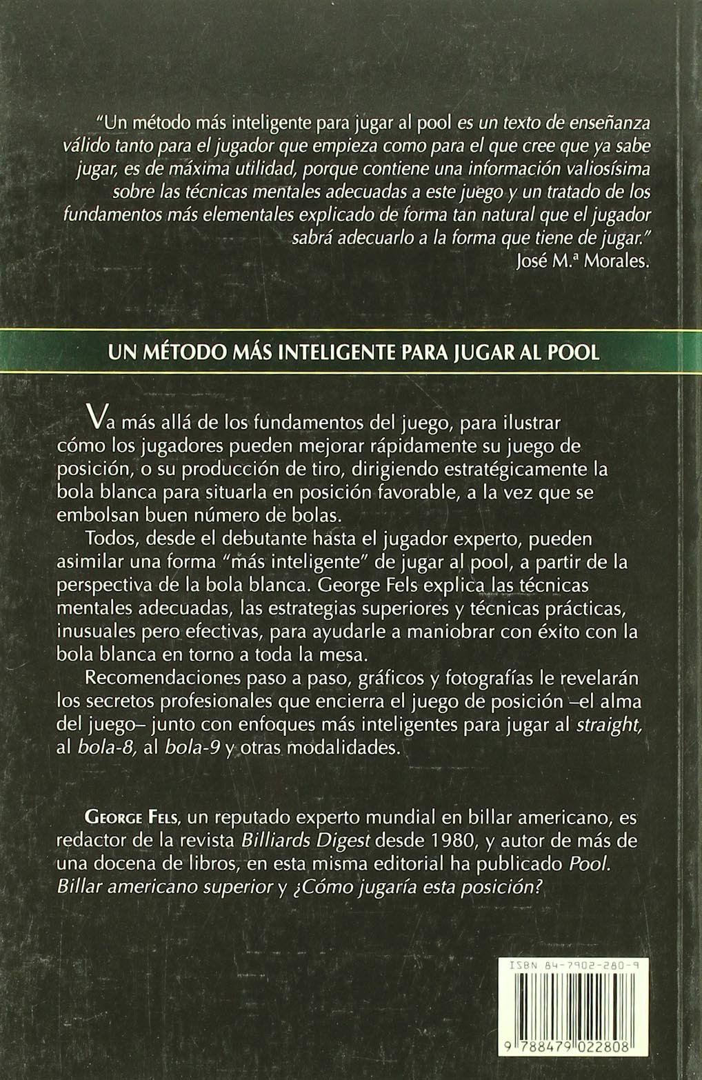 Un Metodo Mas Inteligente Para Jugar Al Pool: Amazon.es: Feels, George: Libros