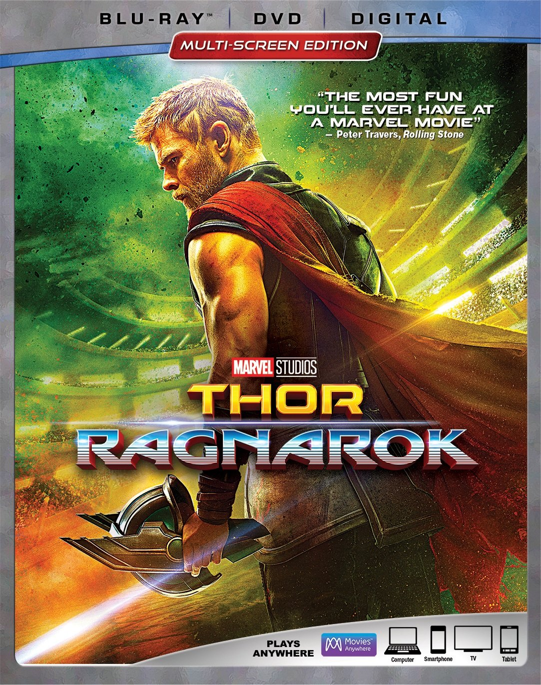 Blu-ray : Thor: Ragnarok (With DVD, AC-3, Dolby, Digital Theater System, Dubbed)