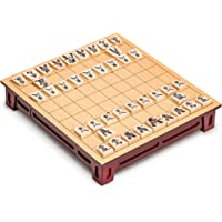 Shogi Japanese Chess Game Set with Wooden Board/Table