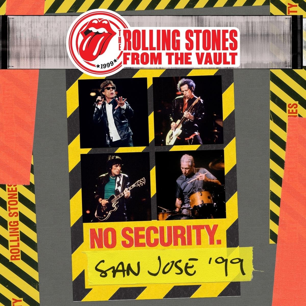 The Rolling Stones - From The Vault: No Security. San Jose '99 [DVD/2CD] by Eagle Vision