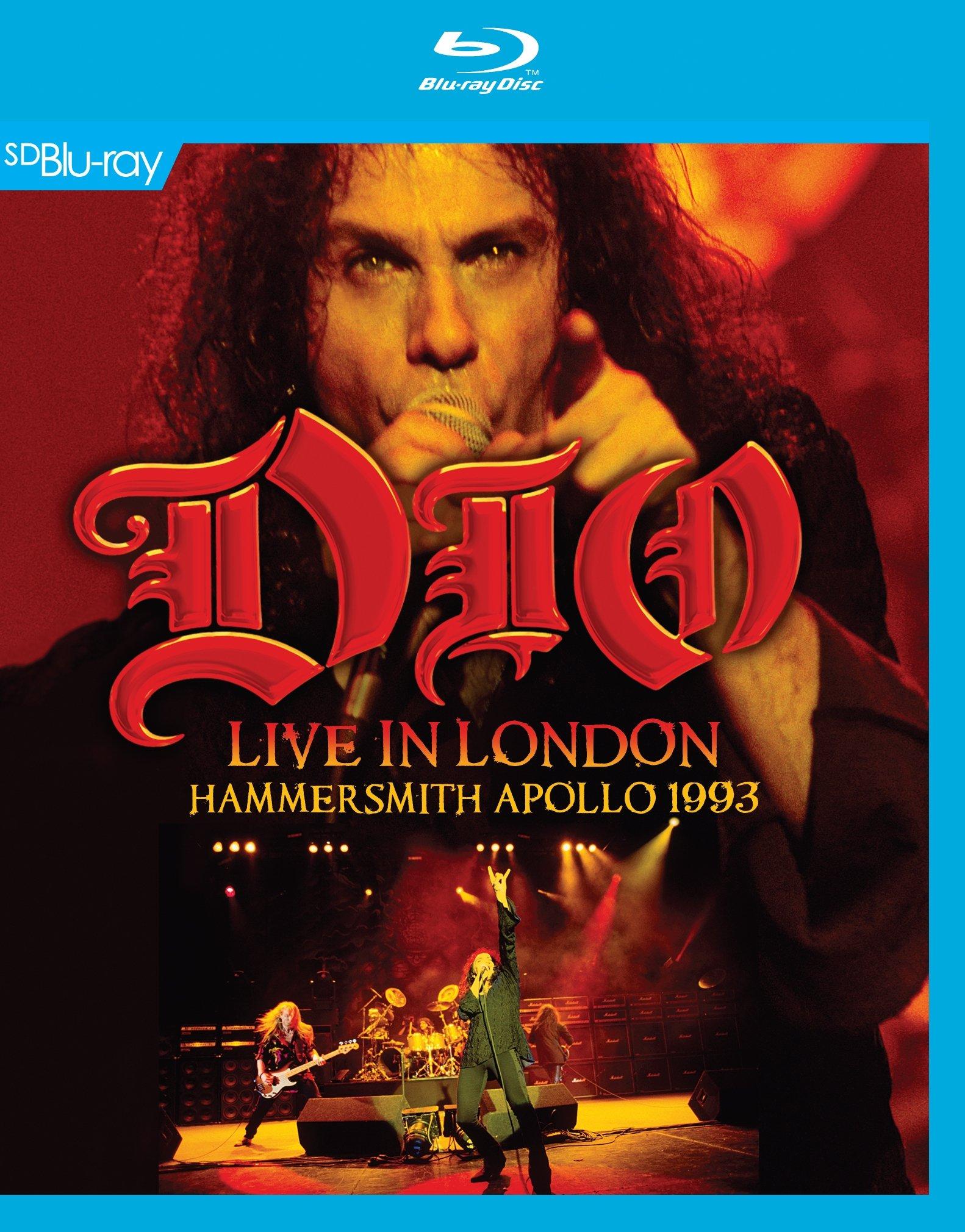 Blu-ray : Dio - Live in London Hammersmith Apollo 1993 (Blu-ray)