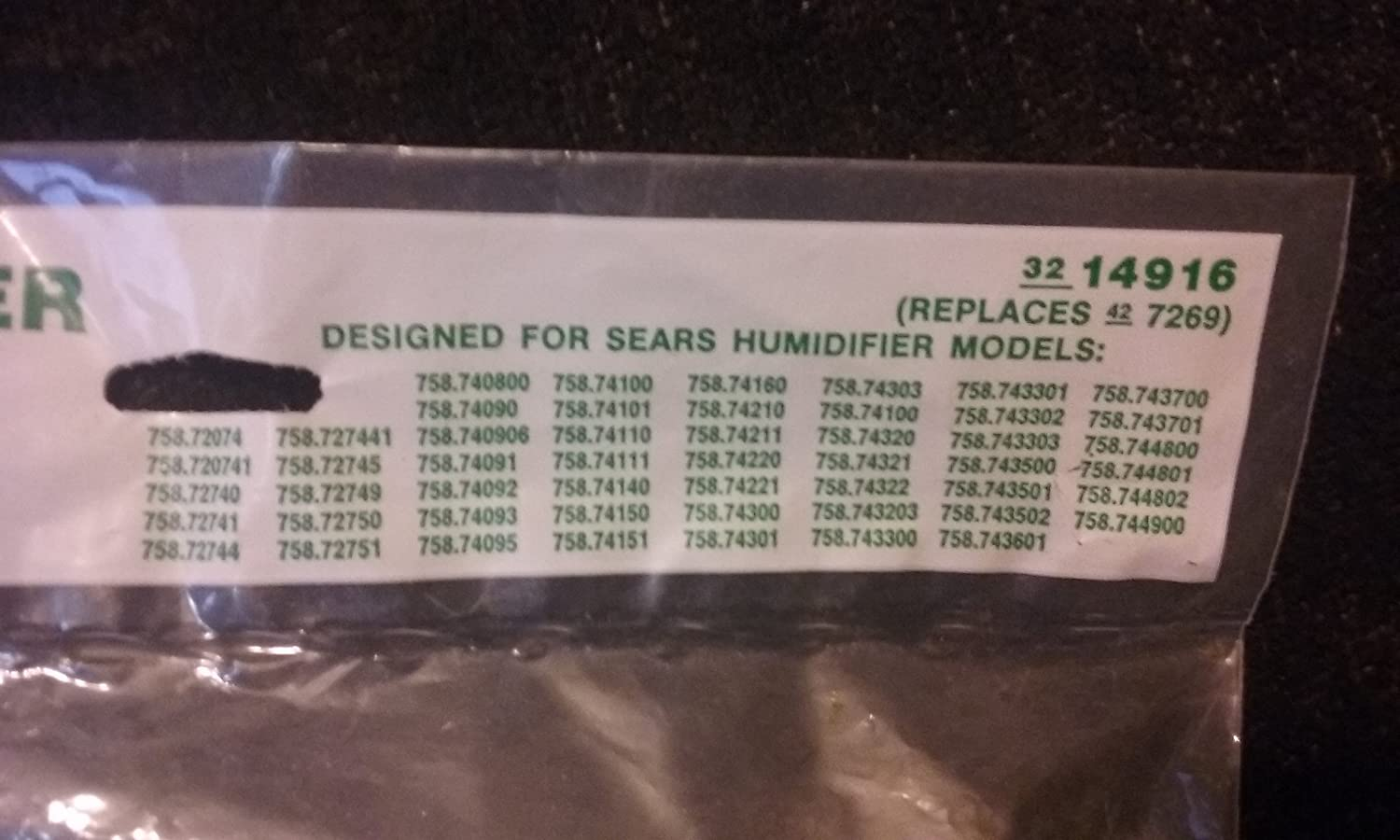0b724649560e Sears Kenmore Humidifier Belt 758.72074 Fits all 70000 Series ...