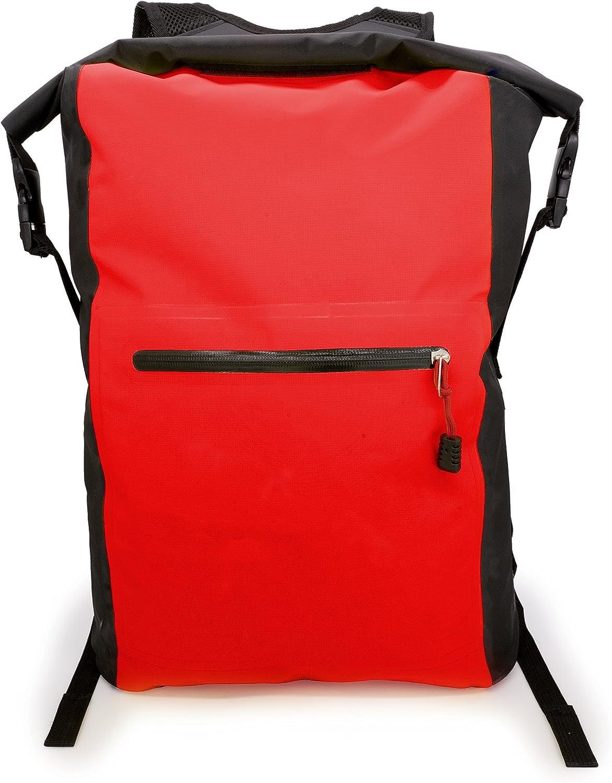 SCHITEC 25L Sac /à Dos Imperm/éable de Sac//Sacs Etanches pour Activit/és de Plein Air et Sports Aquatiques Camping Nautique Kayak P/êche avec Une Pochette /étanche de T/él/éphone