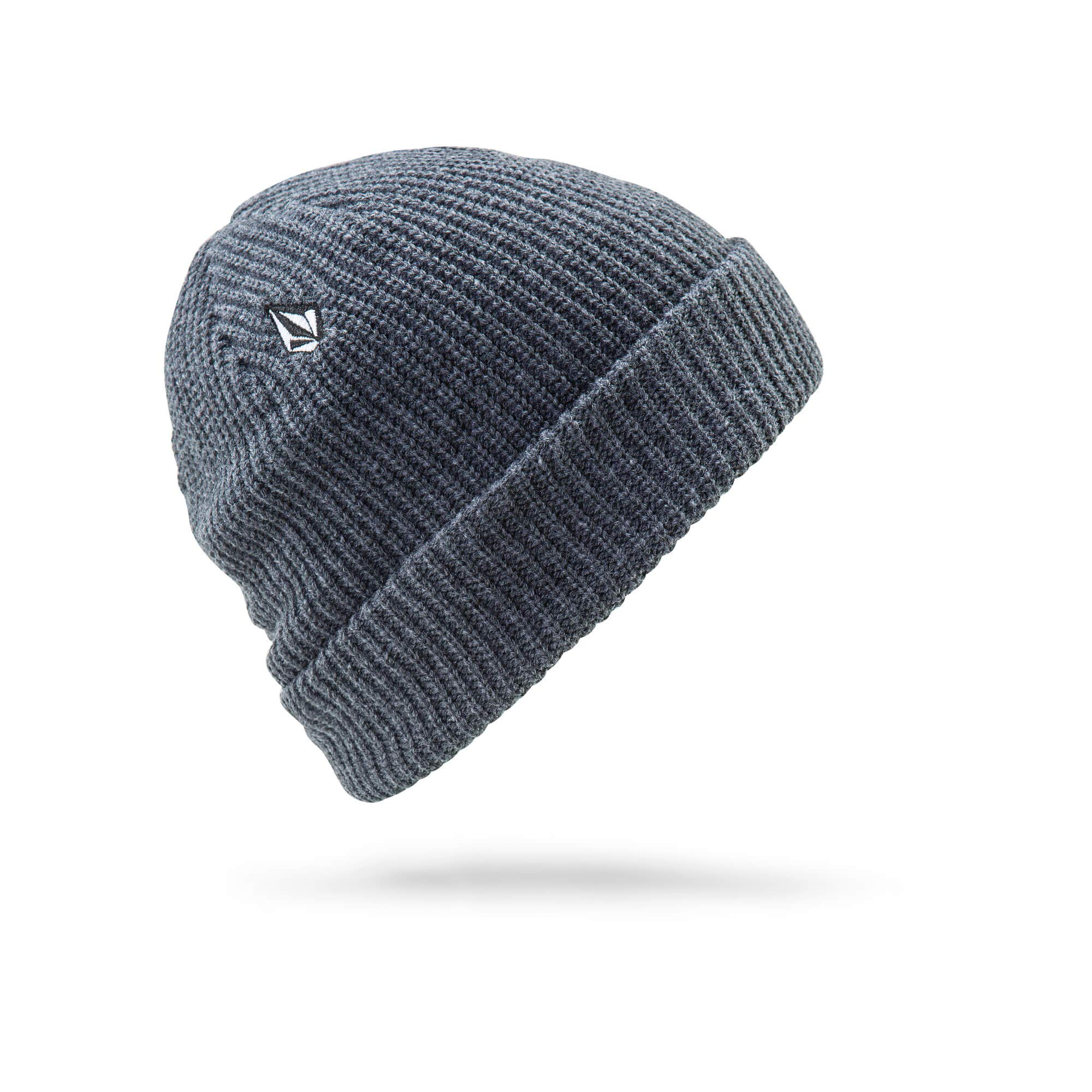 Volcom Young Men's Full Stone Beanie Hat, Charcoal Heather, ONE Size