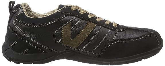 30HH002-771, Herren Sneakers, Schwarz (Schwarz/Stone 142), 41 EU Dockers by Gerli
