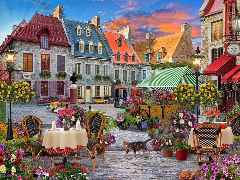 Village Square Jigsaw Puzzle 550 Piece