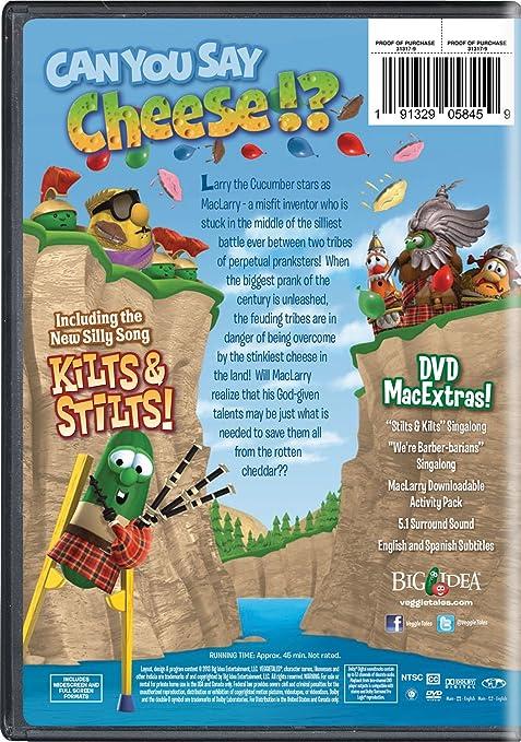 Veggietales: Maclarry & The Stinky Cheese Battle Edizione ...