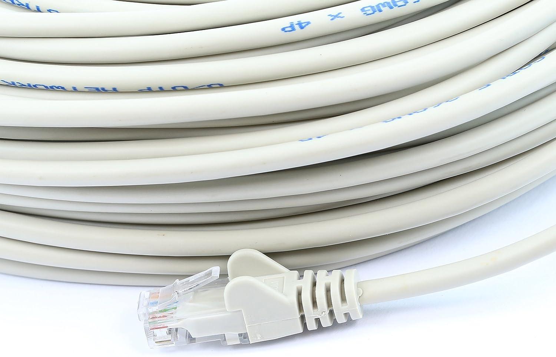 SoDo Tek TM RJ45 Cat5e Ethernet Patch Cable for Samsung ER-3740 Printer Blue 25 ft