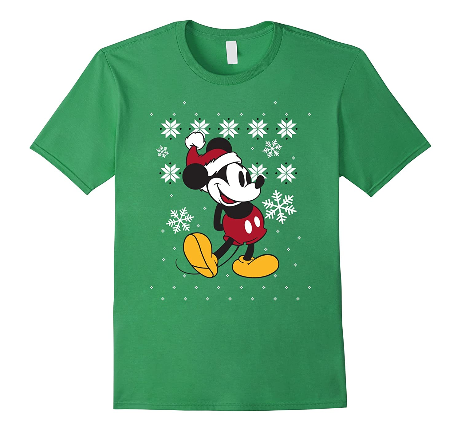 disney mickey mouse christmas sweater pose t shirt rt - Mickey Mouse Christmas Sweater