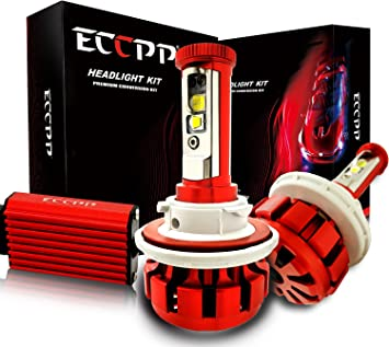 Led All-in-One LED Headlight Conversion Kit Cree Bulbs H11 H9 H8 30W 3000LM x2
