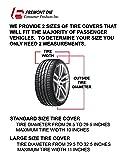 Fremont Die NCAA Oregon Ducks Tire Cover, Large