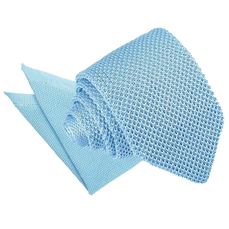 DQT Knit Knitted Plain Red Children Necktie Casual Formal Boys/' Tie