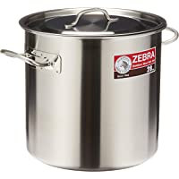 Zebra 171028 Stainless Steel Stock Pot, 28cm, 17L