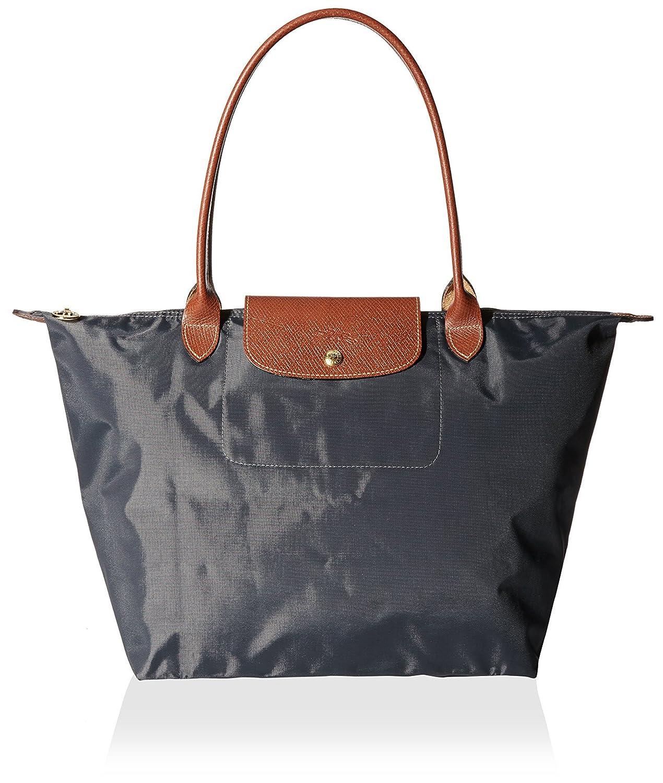 Longchamp Women's Le Pliage Large Tote Bag, Gunmetal