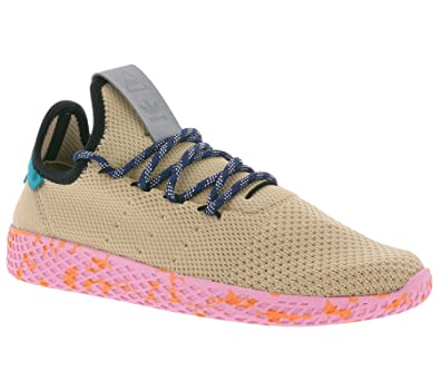 73a8c82f473674 adidas Originals Herren Pharrell Williams Tennis HU Sneakers Schuhe -Beige