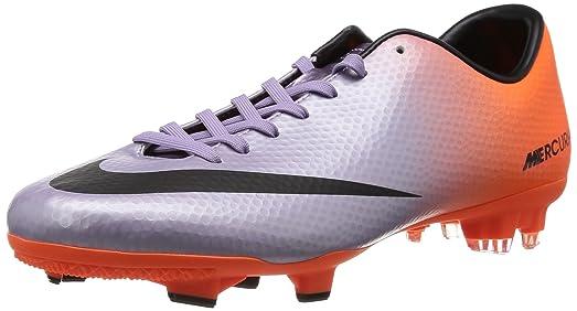 Nike Mens MERCURIAL VICTORY IV FG Soccer Cleats - (MTLC MACH PRPL/BLACK-