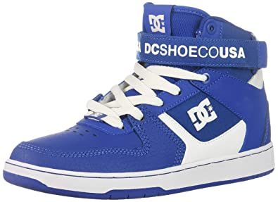 DC Mens PENSFORD Skate Shoe Royal/White 6 D M US