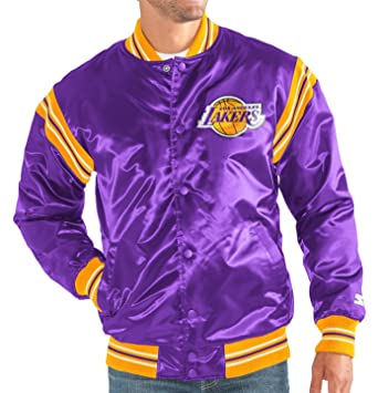 "Los Angeles Lakers de la NBA hombre Starter ""The Enforcer Jacket satinado"" Premium"