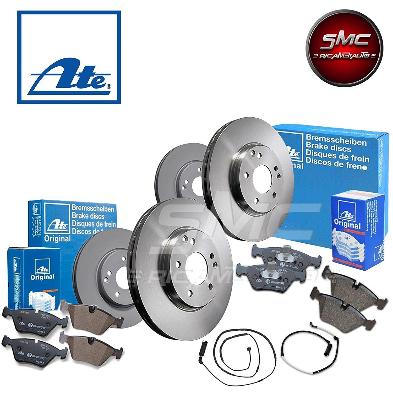Bremsbel/äge Hinten ATE P-A-02-00483 Bremsen Set 2 Bremsscheiben Hinten /Ø 247 Voll