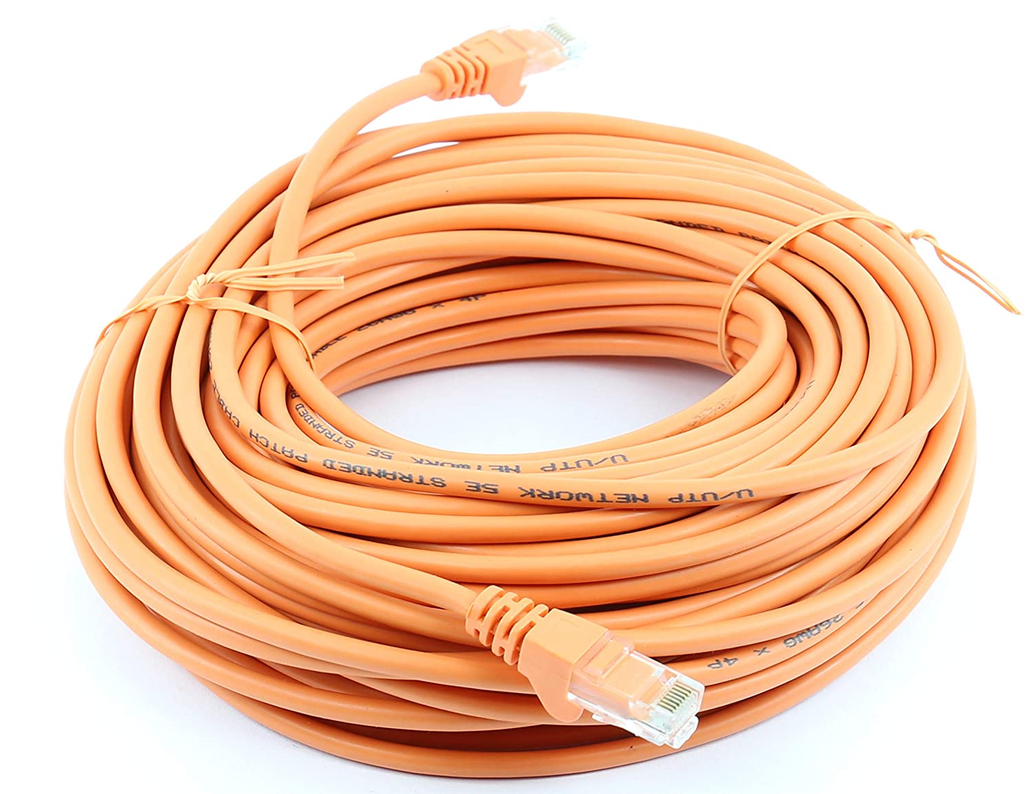 Network Cable Internet Fast Speed Lead 49 Foot Cat 5e Cat5e Ethernet RJ45 High Speed