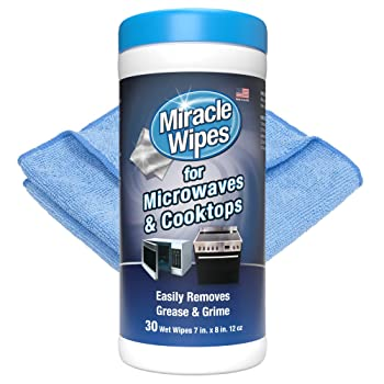 Miracle Wipes 30 Counts Stovetop Cleaner