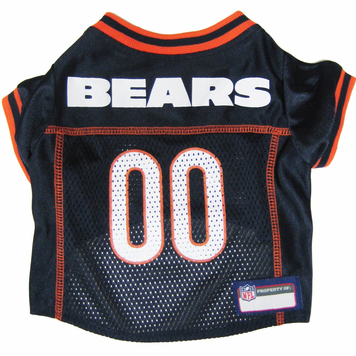 Chicago bears bathroom accessories - Amazon Com Nfl Pet Jersey Football Licensed Dog Jersey 32 Nfl Teams Available Comes In 6 Sizes Football Pet Jersey Sports Mesh Jersey