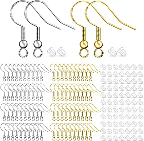 Earring Kit Earwires Earring Making,Earring Components DIY Earring Material Set Supplies Make earring Craft earring 1 DIY Earring Kit