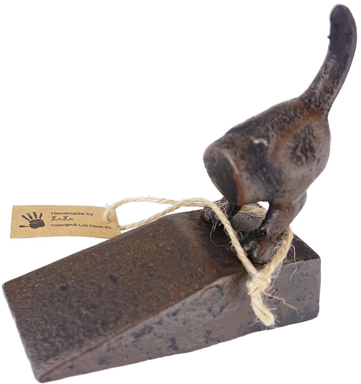 Amazon.com: Lulu Decoración, hierro fundido Perro Tope para ...