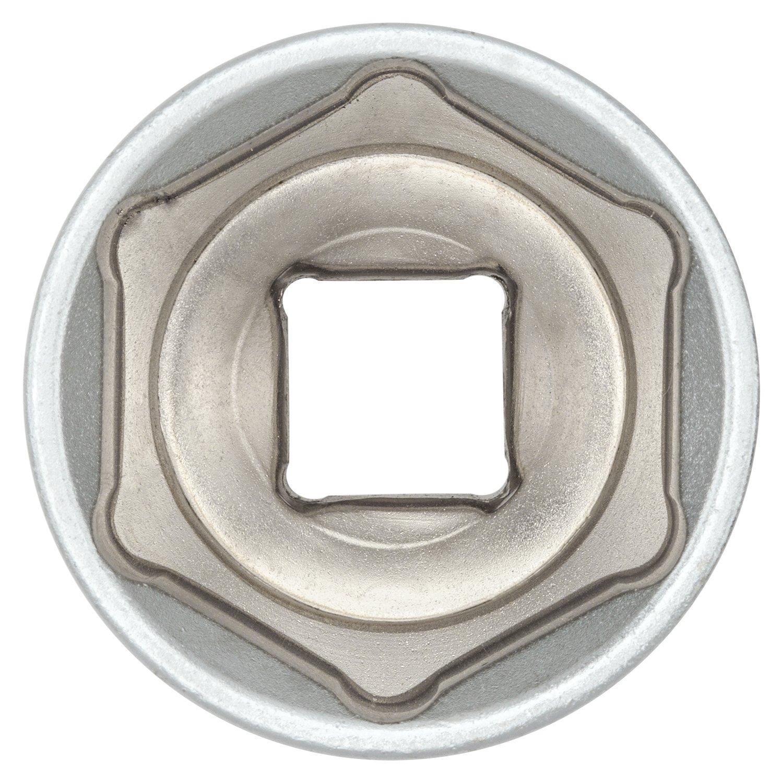 I aus CV-Stahl verchromt I 80768 2x 24mm Sechskant Steckschl/üssel-Einsatz 1//2 Zoll von WIESEMANN 1893 I Sechskant-Nuss mit Antrieb 12,5mm 1//2