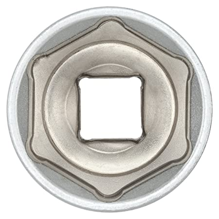 """3 x 15mm hex sockets for Socket Wrench 1//2 inch from WIESEMANN 1893 Made from Chrome-Plated CV Steel 1//2/"""" 80683 Hexagonal nut with 12.5mm Drive"""