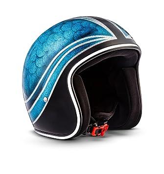 Rebel R3 de bluej oint – Jet Casco de Retro de motocicleta casco Roller de casco