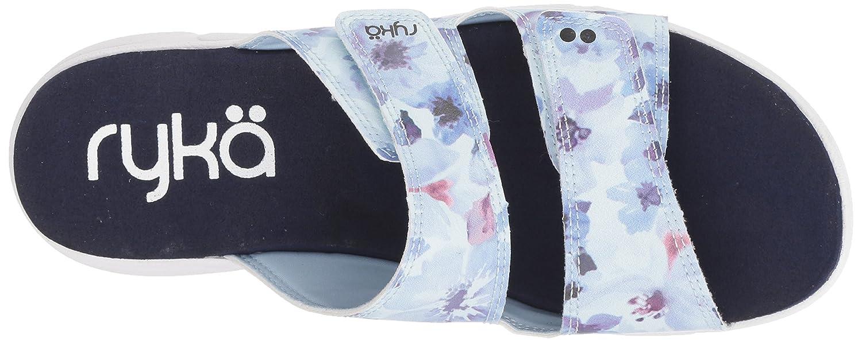 Ryka Women's Marilyn Slide Sandal B0785NNPBL 8.5 W US|Blue/White