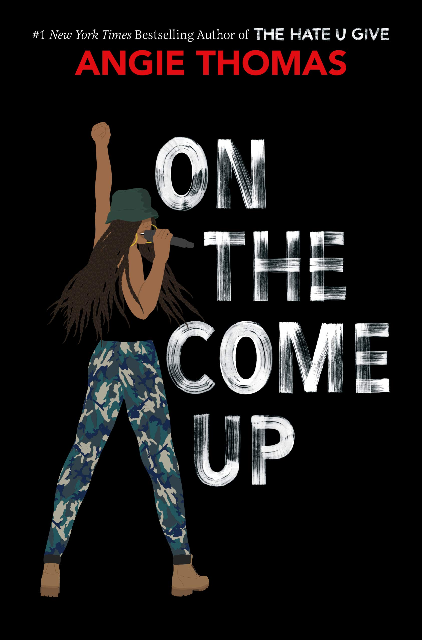 Cover art for the book entitled On the Come Up