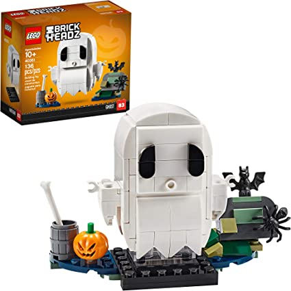 Halloween Ghost 2020 Amazon.com: LEGO BrickHeadz Halloween Ghost 40351 Building Kit