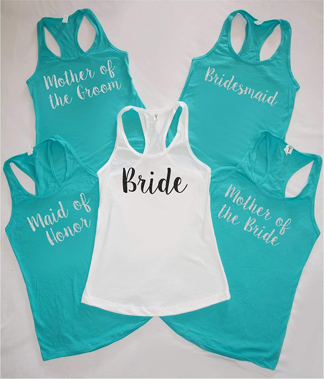 Set of Wizard Themed Bachelorette Party Tanks,Bridal Party Tops,Bachelorette Party,Bachelorette Shirts,Made of Honor Tank,Bridesmaid Tanks