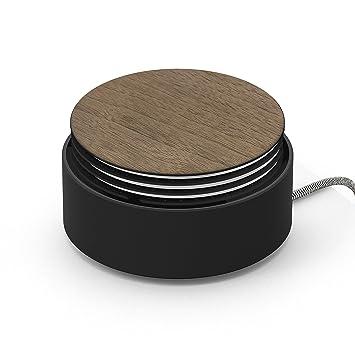 Native Union Cargador Eclipse - Cargador con 3 Puertos USB y Gestión de Cables - Carga Rápida de Múltiples Dispositivos, con Sensor Táctil, Luz y Tapa ...
