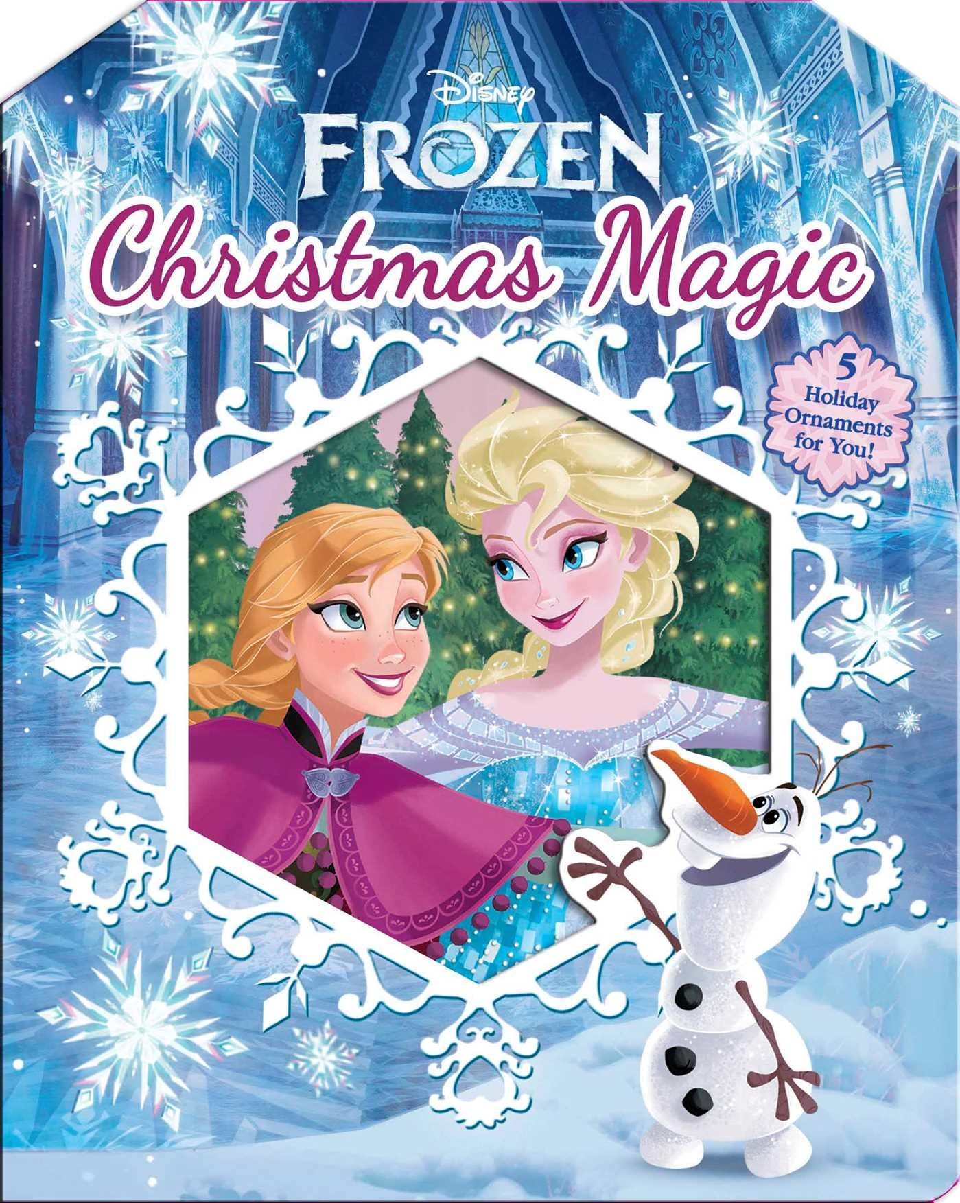 Frozen Christmas.Disney Frozen Christmas Magic Lori C Froeb 9780794435011