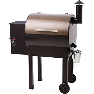 Traeger TFB42LZBC Grills Lil Tex Elite 22 Wood Pellet Grill and Smoker