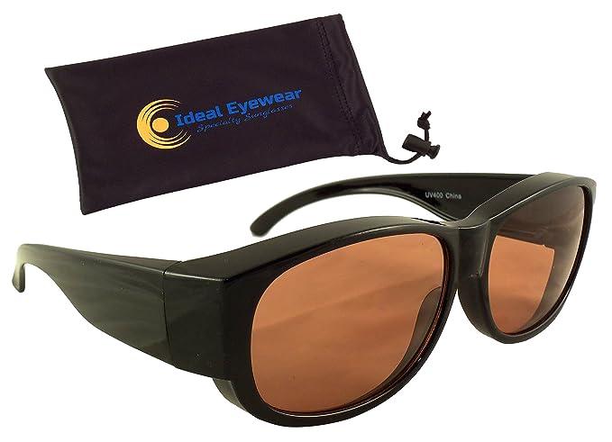 Amazon.com: anteojos de sol Shield Fit más de anteojos de ...