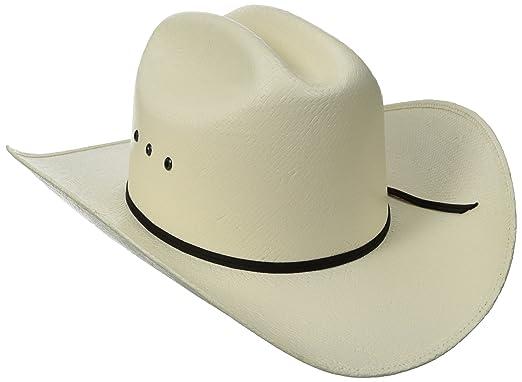 b0d13fb789f Tony Lama Men s Ranch - Shantung Straw Cowboy Hat  Amazon.in  Clothing    Accessories