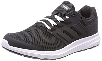 adidas Womens Galaxy 4 Competition Running Shoes, Grey Carbon/Footwear White, 6 UK