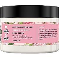 Love Beauty And Planet Muru Muru Butter en Rose Veganistische exfoliërende Body Scrub, Peace & Glow Romige Body Scrub…