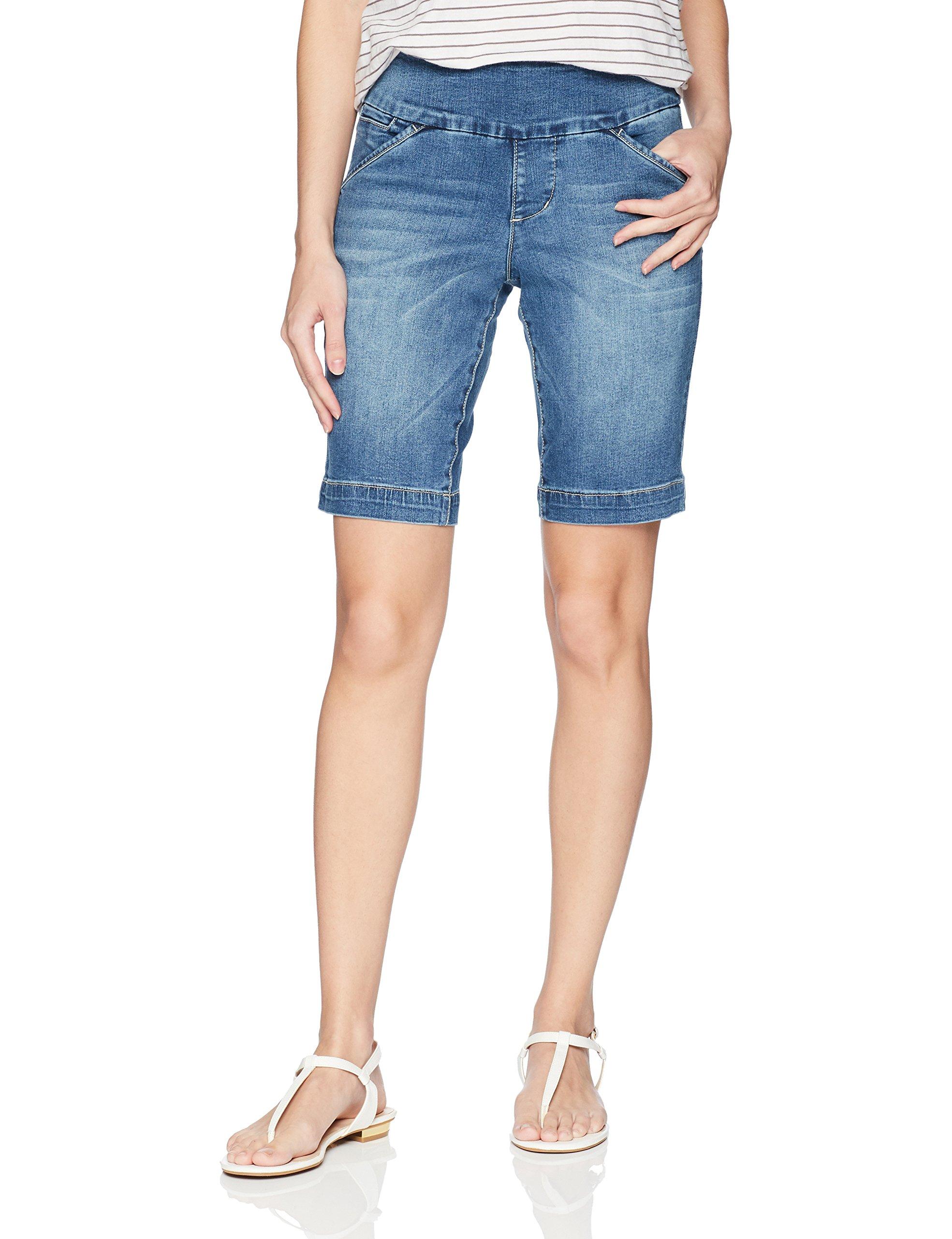 Jag Jeans Women's Ainsley Pull on 8'' Short, Horizon Blue 4