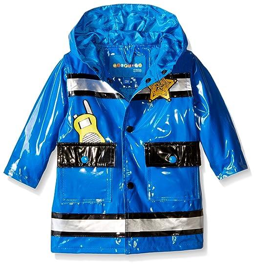 dc70396ae Amazon.com  Wippette Baby Boys  Policeman Rainwear  Clothing