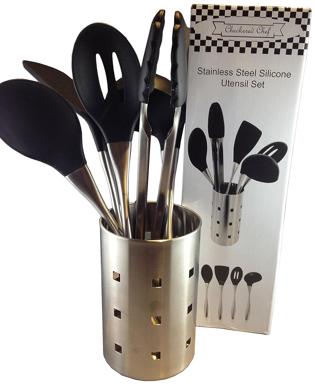 Kitchen cooking utensil set amazon lightning deal picks for Kitchen set utensils