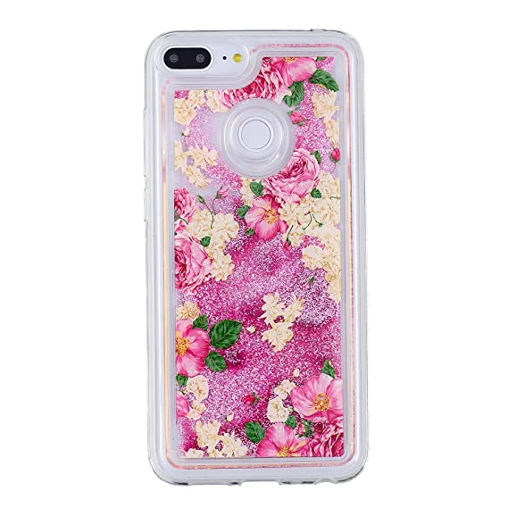 innovative design 736b9 54d76 Amazon.com: Huawei Honor 9 Lite Soft Case, CASE4YOU Glitter ...