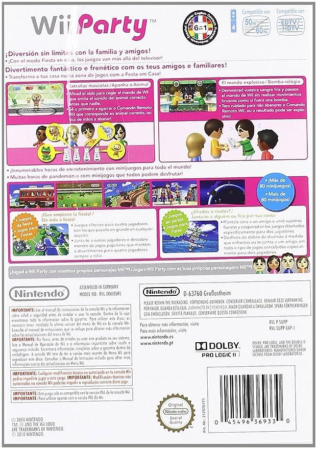 Wii Party Amazon Es Videojuegos