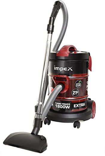 Impex VC-4704 Multi-Purpose Dry Vacuum Cleaner (1800 Watts,Made in Turkey)