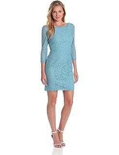 9bbb5ec3 Amazon.com: Adrianna Papell Women's Open Back Jacquard Party Dress V ...