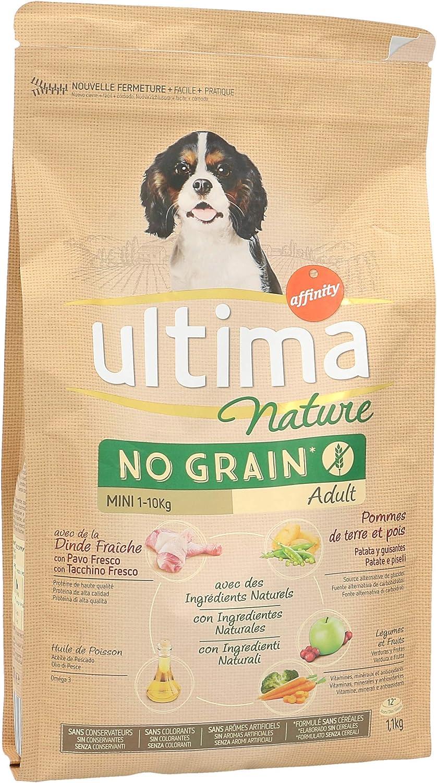 ULTIMA Nature alimento para perros mini adultos con pavo ...
